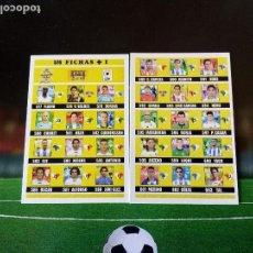 Cromos de Fútbol: 576 INDICE FICHAJE + I UH CROMOS FICHAS ALBUM MUNDICROMO LIGA FUTBOL 2002 2003 02 03. Lote 113247155