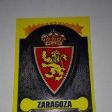 Cromos de Fútbol: CROMO ESCUDO REAL ZARAGOZA LIGA 99-00 PANINI. Lote 113290975