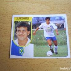 Cromos de Fútbol: QUIQUE ESTEBARANZ CD TENERIFE ESTE 1991 1992 LIGA 91 92 CROMO FUTBOL SIN PEGAR NUNCA PEGADO / CARTON. Lote 113299219