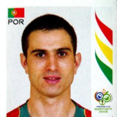 Cromos de Fútbol: 300 PAULETA - PORTUGAL - MUNDIAL ALEMANIA 2006 PANINI STICKER FIFA WORLD CUP GERMANY. Lote 113356671