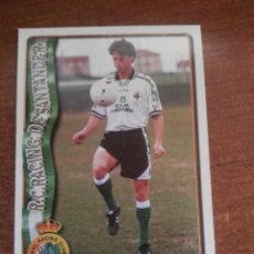 Cromos de Fútbol: MUNDICROMO FICHAS LIGA 96 - 97 1996 - 1997 CROMO ULTIMA HORA 306 MORAN. Lote 113394607