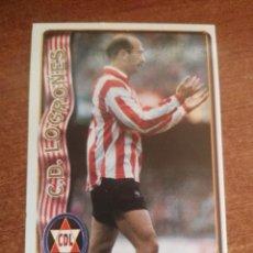 Cromos de Fútbol: MUNDICROMO FICHAS LIGA 96 - 97 1996 - 1997 CROMO ULTIMA HORA 377 ABADIA. Lote 113395083