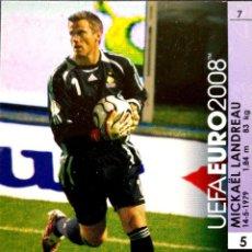 Cromos de Futebol: 7 MICKAEL LANDREAU - FRANCIA - UEFA EURO 2008 08 - PANINI TRADING CARD GAME - AUSTRIA Y SUIZA. Lote 113399667