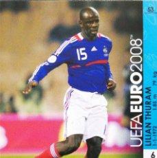 Cromos de Futebol: 53 LILIAN THURAM - FRANCIA - UEFA EURO 2008 08 - PANINI TRADING CARD GAME - AUSTRIA Y SUIZA. Lote 113400415