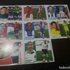 Cromos de Fútbol: 6 CROMOS MERCADO FICHAJES INVIERNO ACTUALIZACION ESTE 2007 2008 07 08. Lote 113403031