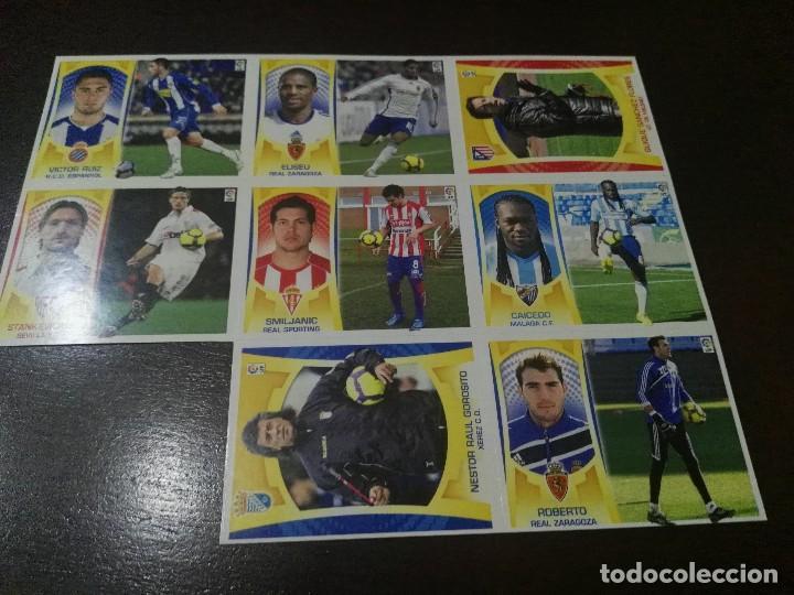 17 CROMOS MERCADO FICHAJES INVIERNO ACTUALIZACION ESTE 2009 2010 09 10 (Coleccionismo Deportivo - Álbumes y Cromos de Deportes - Cromos de Fútbol)