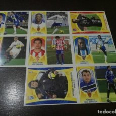 Cromos de Fútbol: 17 CROMOS MERCADO FICHAJES INVIERNO ACTUALIZACION ESTE 2009 2010 09 10 . Lote 113403319