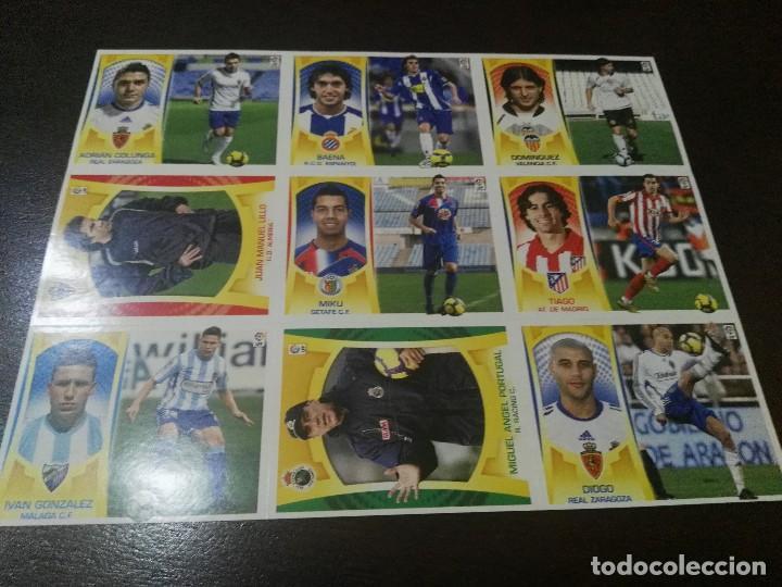 Cromos de Fútbol: 17 cromos MERCADO FICHAJES INVIERNO ACTUALIZACION ESTE 2009 2010 09 10 - Foto 3 - 113403319
