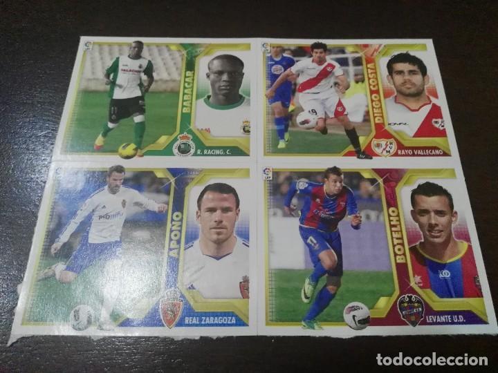 32 CROMOS MERCADO FICHAJES INVIERNO ACTUALIZACION ESTE 2011 2012 11 12 (Coleccionismo Deportivo - Álbumes y Cromos de Deportes - Cromos de Fútbol)