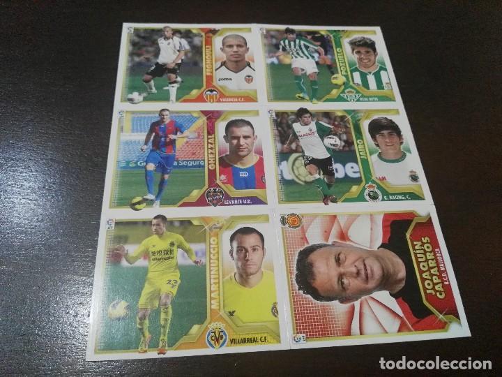 Cromos de Fútbol: 32 cromos MERCADO FICHAJES INVIERNO ACTUALIZACION ESTE 2011 2012 11 12 - Foto 7 - 113403579