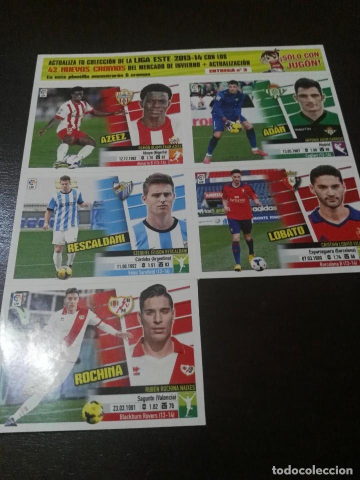 Cromos de Fútbol: 31 cromos MERCADO FICHAJES INVIERNO ACTUALIZACION ESTE 2013 2014 13 14 con album vacio - Foto 6 - 113403859