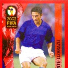 Cromos de Futebol: 16 BIXENTE LIZARAZU - FRANCIA - PANINI 2002 FIFA WORLD CUP JAPON Y COREA - TRADING CARD RARE. Lote 113426567