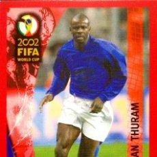 Cromos de Futebol: 17 LILIAN THURAM - FRANCIA - PANINI 2002 FIFA WORLD CUP JAPON Y COREA - TRADING CARD RARE. Lote 113426631