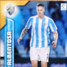 Cromos de Fútbol: 357 ALBENTOSA MALAGA MEGACRACKS 16/17. Lote 113569831