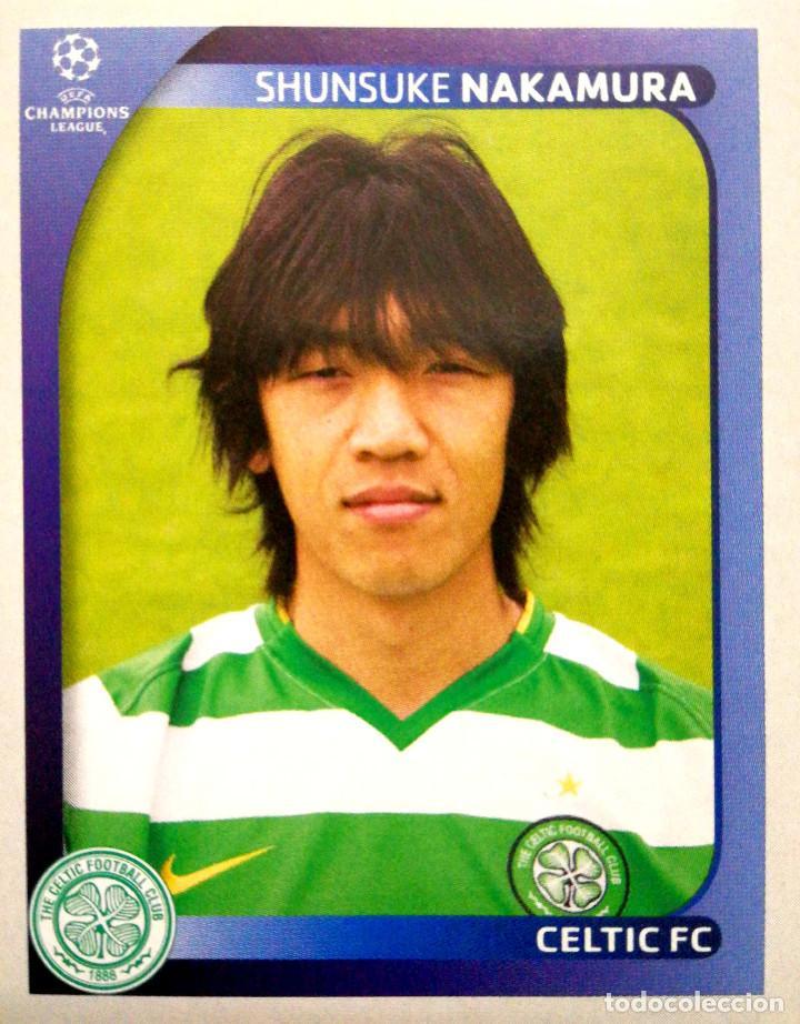 promo code 7c268 0e680 207 Shunsuke Nakamura - Celtic FC - UEFA Champions League 2008 2009 08 09  Sticker PANINI