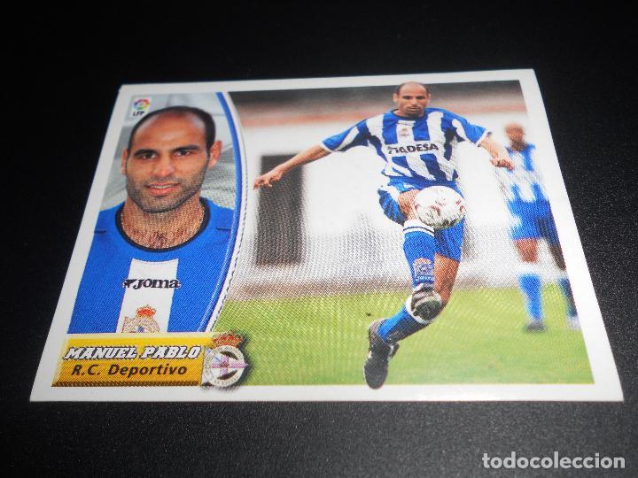 MANUEL PABLO DEPORTIVO CORUÑA CROMOS ALBUM EDICIONES ESTE LIGA FUTBOL 2003 2004 03 04 (Coleccionismo Deportivo - Álbumes y Cromos de Deportes - Cromos de Fútbol)