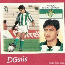 Cromos de Fútbol: CROMO ESTE LIGA 1999 2000 AYALA /REAL BETIS). BAJA. NUEVO. Lote 113952287