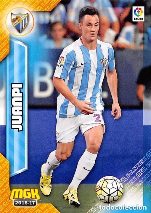 368 JUANPI MALAGA MEGACRACKS 16/17 (Coleccionismo Deportivo - Álbumes y Cromos de Deportes - Cromos de Fútbol)
