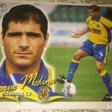 Cromos de Fútbol: EDICIONES ESTE 2000 / 2001 00 / 01 QUIQUE MEDINA VILLARREAL CROMO NUNCA PEGADO. Lote 114001083