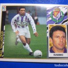 Cromos de Fútbol - EUSEBIO FICHAJE 7 VALLADOLID ALBUM LIGA ESTE 97 98 1997 1998 CROMO NUEVO - 114026727