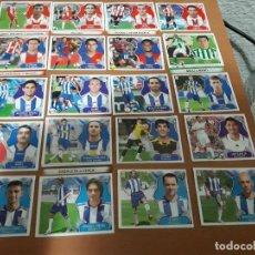 Cromos de Fútbol: ESTE 2008/09 TODOS LOS COLOCAS Y BAJAS EDITADOS EN VENTANILLA (VER FOTOS). Lote 114118627
