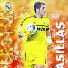 Cromos de Fútbol - 23 Iker Casillas - Superstar Mate - Real Madrid - Mundicromo MC Quiz Game Liga 2012 2013 12 13 - 114208919
