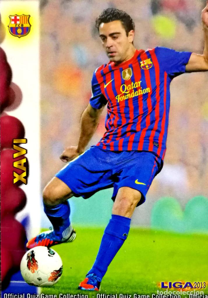 267fc14d998 42 Xavi - F.C. Barcelona - Mundicromo MC Quiz Game Liga 2012 2013 12 13