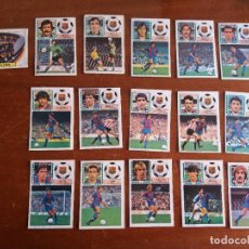 Cromos de Fútbol: LOTE 224 CROMOS ESTE 83.84. INCLUYE 7 COLOCAS, 11 U.F. Y 1 BAJA. DESPEGADOS.. Lote 114353551