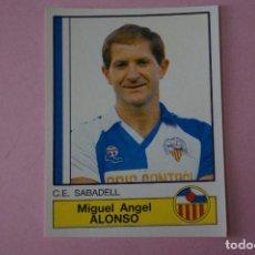 Cromos de Fútbol: CROMO DE FÚTBOL: ALONSO DEL C.E.SABADELL,(SIN PEGAR),Nº 221,LIGA PANINI 87. Lote 114380263