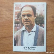 Cromos de Fútbol: FUTBOL 83 84 CROMOS CANO LUCIEN MULLER (MALLORCA) ENTRENADOR BAJA - NUNCA PEGADO - LIGA 1983 1984. Lote 114460015