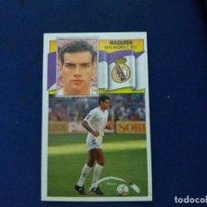 Cromos de Fútbol: 90/91 ESTE. NUNCA PEGADO COLOCA REAL MADRID MAQUEDA. Lote 114473223