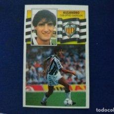 Cromos de Fútbol: 90/91 ESTE. NUNCA PEGADO BAJA CASTELLÓN ALEJANDRO . Lote 114473975