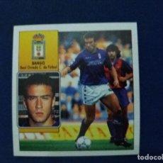 Cromos de Fútbol: 92/93 ESTE. NUNCA PEGADO BAJA OVIEDO BANGO. Lote 114482119