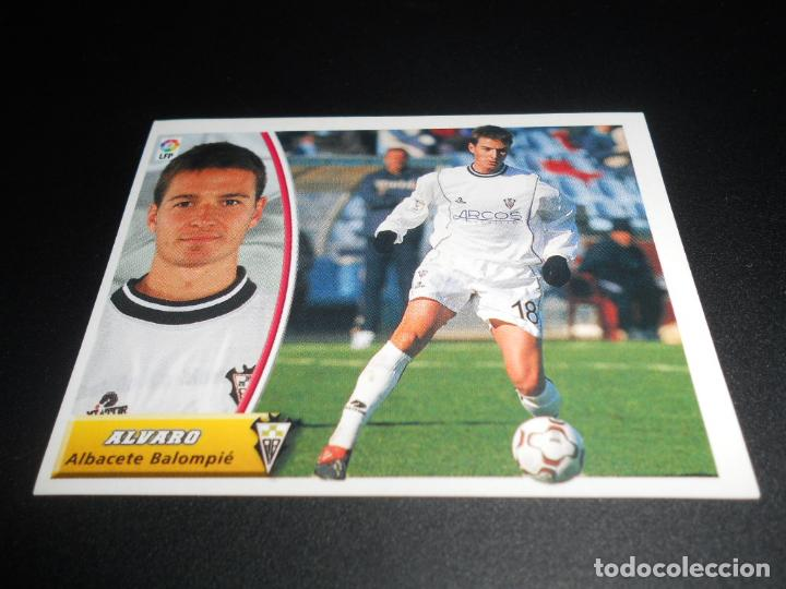 CROMO ALVARO ALBACETE CROMOS ALBUM EDICIONES ESTE LIGA FUTBOL 2003-2004 03-04 PANINI (Coleccionismo Deportivo - Álbumes y Cromos de Deportes - Cromos de Fútbol)