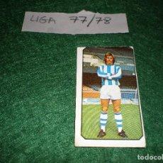 Cromos de Fútbol: LIGA 77/78,NUNCA PEGADO. Lote 114534587