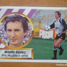 Cromos de Fútbol: CROMO ESTE LIGA 88 89 MAURO RAVNIC (VALLADOLID) - RECORTADO - 1988 1989. Lote 114572399