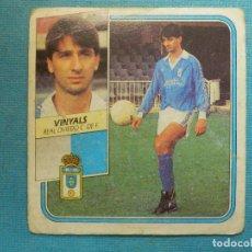 Cromos de Fútbol: CROMO - FUTBOL - VINYALS - OVIEDO - EDICIONES ESTE - LIGA 89-90 - 1989-1990 - NUNCA PEGADO. Lote 114592363