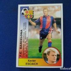 Cromos de Fútbol: LIGA 94/95 PANINI FICHAJE BARCELONA 365 ESCAICH NUNCA PEGADO . Lote 114619747