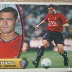 Cromos de Fútbol: EDICIONES ESTE 2003 / 2004 03 / 04 CRUCHAGA OSASUNA CROMO NUNCA PEGADO. Lote 114711479