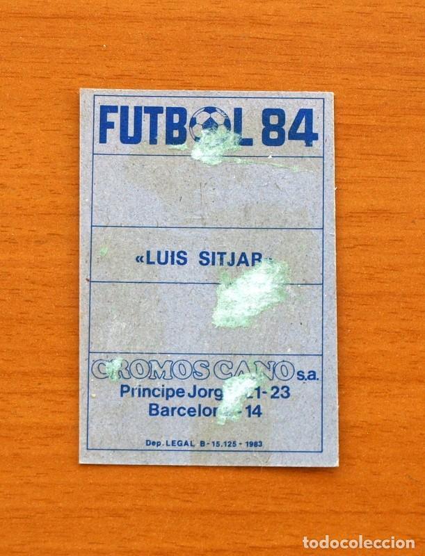 Cromos de Fútbol: Mallorca - Estadio Luis Sitjar - Cromos Cano, Fútbol 1983-1984, 83-84 - Foto 2 - 114964895
