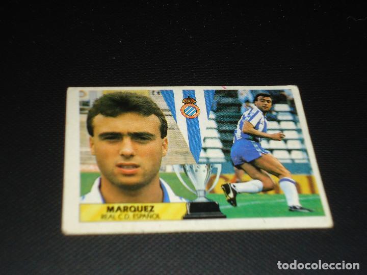 CROMO ESTE 87 88 - MARQUEZ , DEL ESPAÑOL - NUNCA PEGADO ( PEDIDO MINIMO 5 EUROS ) (Coleccionismo Deportivo - Álbumes y Cromos de Deportes - Cromos de Fútbol)