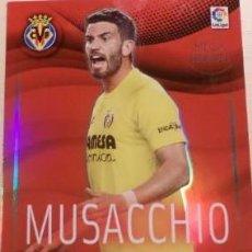 Cromos de Fútbol: 538 MUSACCHIO VILLARREAL MEGA HEROES MEGACRACKS 15/16. Lote 115002127