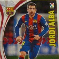Cromos de Fútbol: 66 JORDI ALBA BARCELONA MEGACRACKS 15/16. Lote 115002347