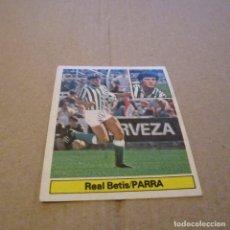 Cromos de Fútbol: EDICIONES ESTE. LIGA 81-82. NUEVO. PARRA-REAL BETIS.. Lote 115250939