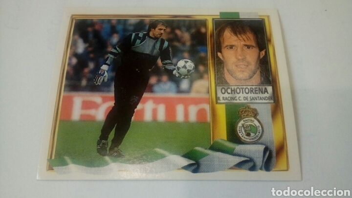 CROMO SIN PEGAR ED. ESTE LIGA 95 96 COLOCA OCHOTORENA RACING DE SANTANDER (Coleccionismo Deportivo - Álbumes y Cromos de Deportes - Cromos de Fútbol)