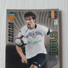 Cromos de Fútbol: 399 ALBELDA VALENCIA ADRENALYN 2009 2010 IDOLO 09 10. Lote 115272263