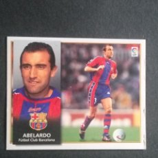 Cromos de Fútbol: ABELARDO BARCELONA ESTE 98 99. Lote 115344323