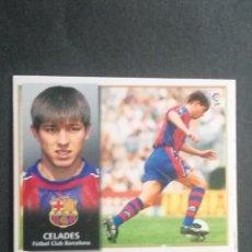 Cromos de Fútbol: CELADES BARCELONA ESTE 98 99. Lote 115344339