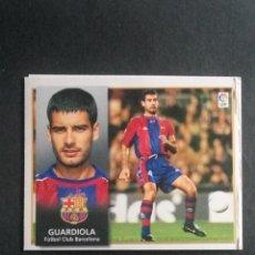 Cromos de Fútbol: GUARDIOLA BARCELONA ESTE 98 99. Lote 115344415