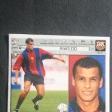 Cromos de Fútbol: RIVALDO BARCELONA ESTE 01 02 . Lote 115344471